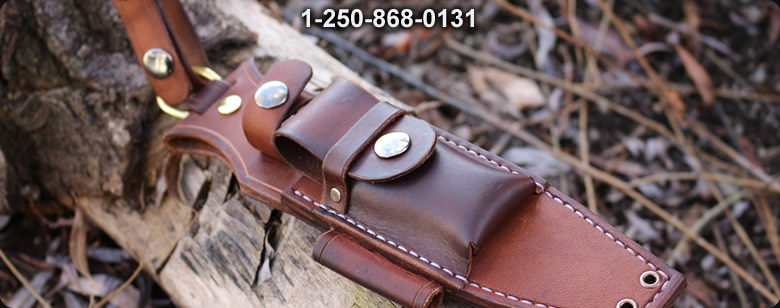 Bushcraft Leather Gear - Bushcraft Canada