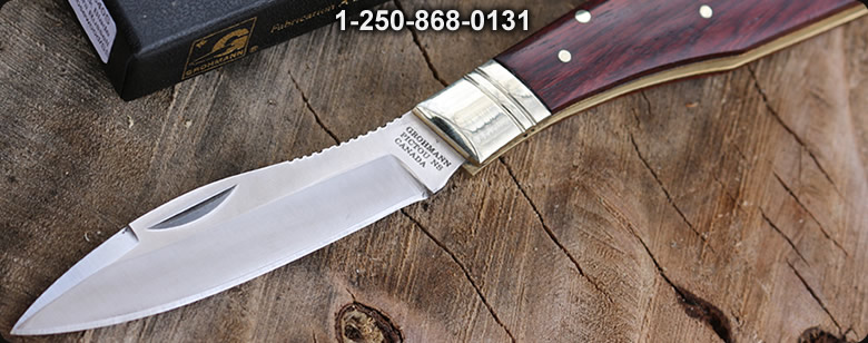 Grohmann Moose and Deer Knife - Bushcraft Canada