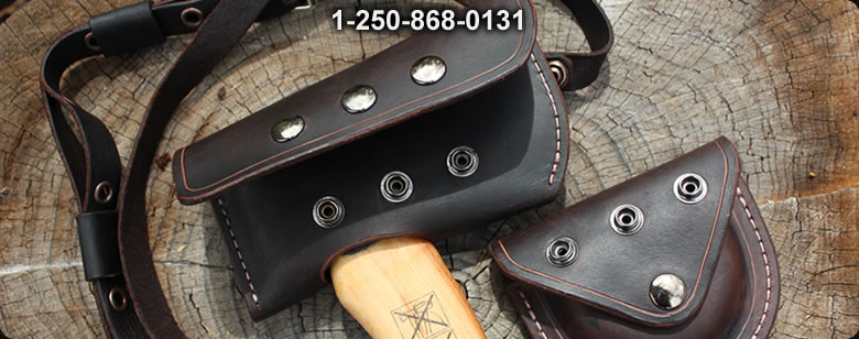 Canadian Custom Bushcraft  leather - Bushcraft Canada
