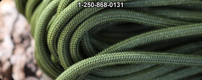 Paracord Commercial - Bushcraft Canada