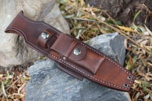 Canadian Bushcraft Leather Custom A1 sheath