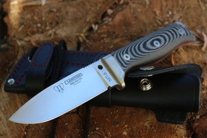 Cudeman Bushcraft MT5 knife Micarta