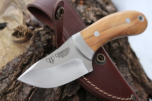 Cudeman Olivewood Compact Outdoor Knife