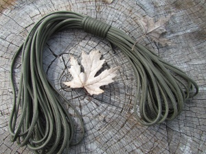 Paracord Commercial 550 OD Green 50 ft
