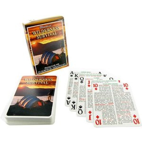 Wilderness Survival Card Set Bushcraft Canada