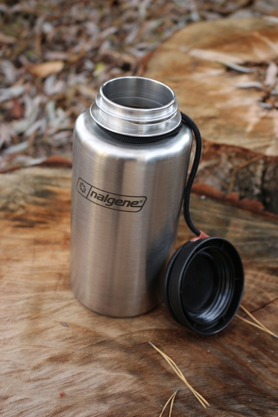 Nalgene Backpacker Stainless Steel Waterbottle Bushcraft Canada