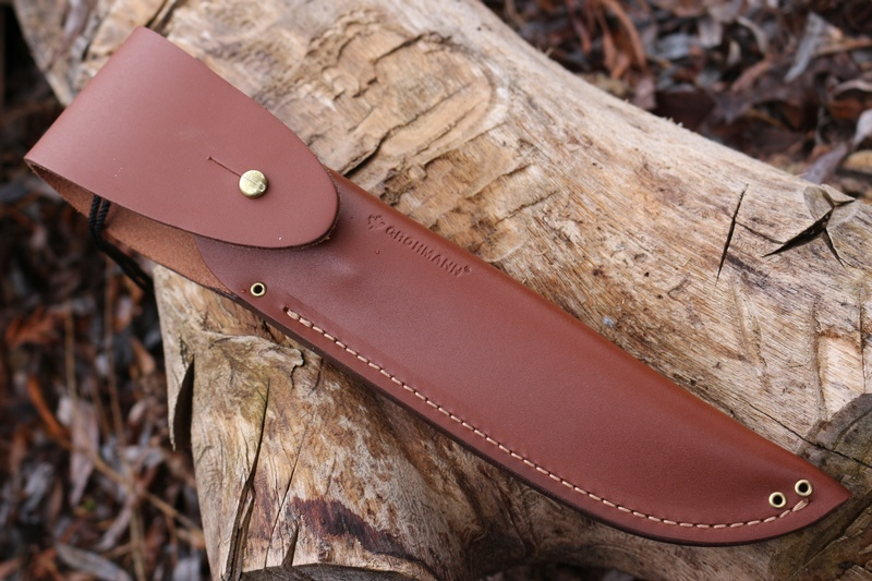 Grohmann No4 Survival Knife Stainless Bushcraft Canada