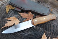 Medium Woodcrafter Natural Micarta