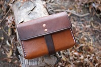 Canadian Bushcraft Leather Pouch N01 Photo