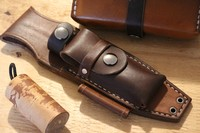 Canadian Bushcraft Leather F1 Sheath