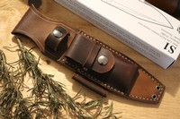 Canadian Bushcraft Leather S1 Sheath Photo
