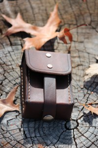 Canadian Bushcraft Leather Pouch N02