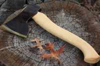 Swedish handmade Large wood Axe