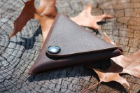 Canadian Bushcraft Triangle Tinder Pouch