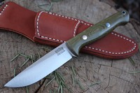 Barkriver Gunny Hunter S35VN Green Canvas