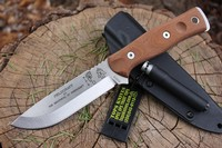 Tops BOB Bushcraft Knife Tumble finish Photo