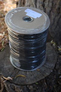 MIL SPEC Paracord BLACK 1000FT Spool