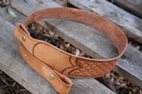 Canadian Made leather Rifle Sling Photo