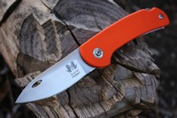 Reinhard Muller EDC Folding knife CPMS90V Orange