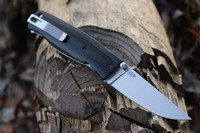 Enzo Birk 75 Folder S30V Black G10