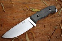 TRC Knives TR 13 Elmax Black Canvas Photo