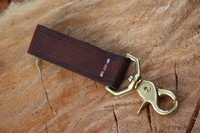 Bushcraft Leather Gear Attachement Trigger Clip Photo