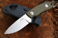 TRC Knives K12-S Elmax OD Green G10 Photo