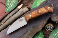 Barkriver Knives A2 TUSK Desert Ironwood with Mosaic Pins Photo