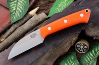 Barkriver Knives A2 TUSK Orange G10 Photo