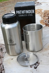 Pathfinder Stainless Bottle and Nesting Cup Set Gen3