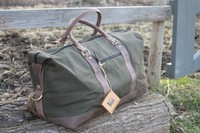 Harkila Canvas and Leather Duffel Photo