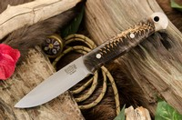 Barkriver Ultralite Bushcrafter Elmax Black and White Pincone #3