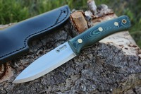 Casstrom Swedish Forest Knife No10 Green Micarta Photo