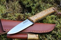 Casstrom Woodsman K720 Curly Birch with Firesteel Photo