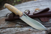 Cudeman Ness Wolf N695 Olivewood Photo