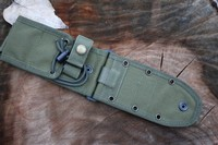 ESEE 5/6 Molle back and Pouch seperate Black or OD