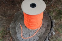 Safety Orange 7 strand Paracord  50ft