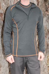 Swedish Merino 1/4 Zip Top