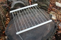 Stainless steel collapse~able Camp Grill.
