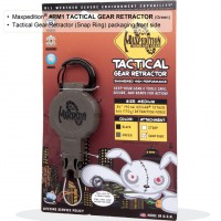 Tactical Gear Retractor MED/SnapRing