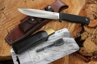 Fallkniven A1 Custom Bushcraft Leather Kit photo
