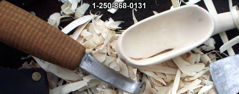 Traditional Japanese Carpenters knife Blue steel Large - Bushcraft Canada