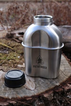 Pathfinder Stainless Steel Canteen