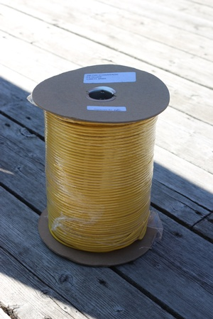 Paracord Commercial 7 Strand 550 Yellow 1000ft