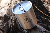 Pathfinder Stainless Steel Cup and Lid Set Photo