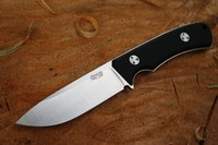 TRC Knives K1S Compact Elmax Black G10 Photo