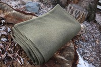 Value Wool Blanket Olive Photo