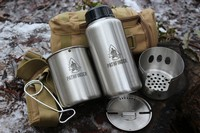 Pathfinder Stainless Steel Bottle and Cookset Photo