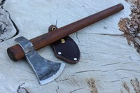 H and B Forge Hawk 19in with Leather Edge Cover Photo