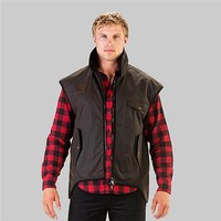Swanndri Oilskin Vest Photo